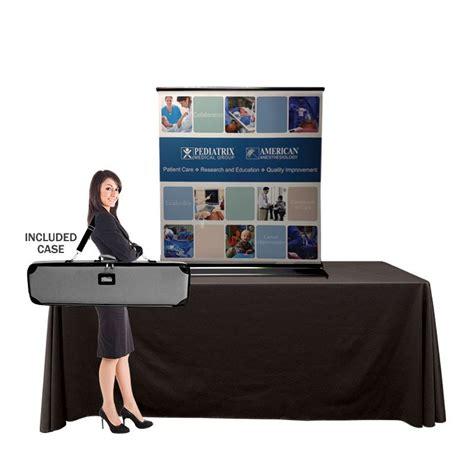 table top banner display minikin 36 92 quot table top banner stand