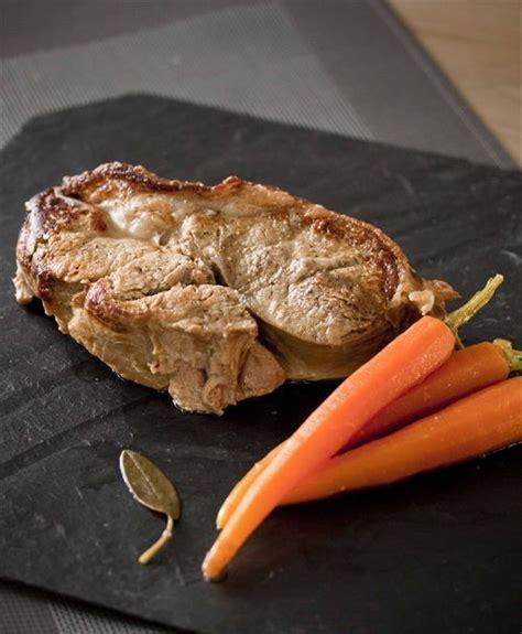 comment cuisiner des aubergines collier de veau aux échalotes et petites carottes panier