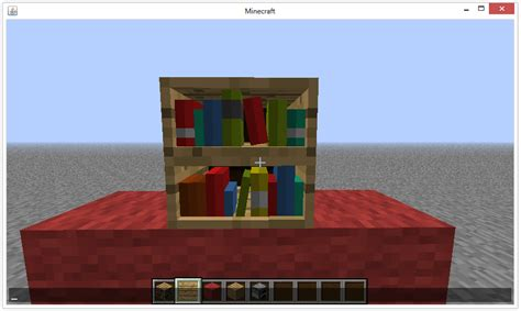 bookshelf minecraft pc wiki fandom powered  wikia