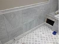 marble bathroom tile Edmonton Tile Install – White Marble Bathroom | River City ...