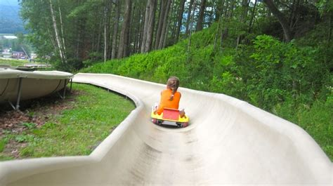 Bromley Mountain Vermont Alpine Slide I Want To Go To