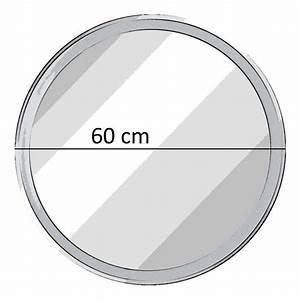 Spiegel Rund 60 Cm : fackelmann spiegel rund mit led beleuchtung 60 cm fms spiegelelement ~ Whattoseeinmadrid.com Haus und Dekorationen