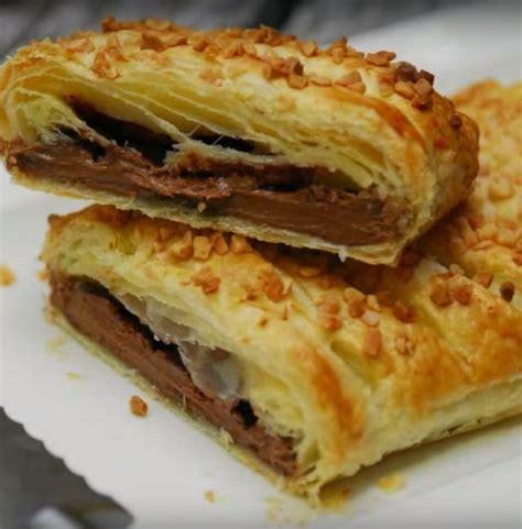 tarte chocolat banane pate feuilletee les 25 meilleures id 233 es de la cat 233 gorie feuillet 233 chocolat sur pate feuillet 233 e