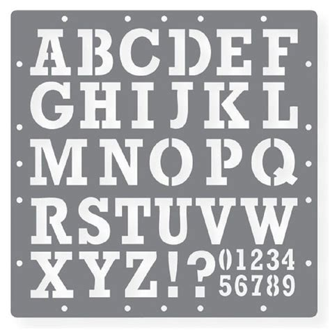 printable stencil letters free printable letters and numbers stencils paper crafts 64471