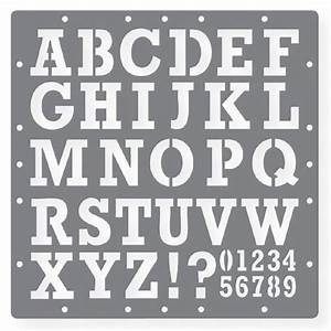 free printable letters and numbers stencils paper crafts With letter and number stencils