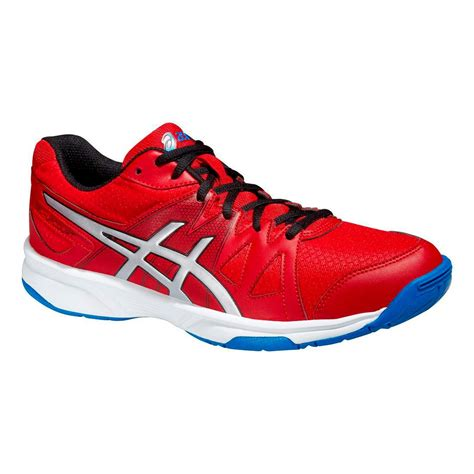 Asics Mens GEL-Upcourt Indoor Shoes - Fiery Red ...