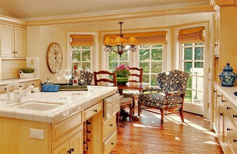 Country French Living Room Pictures by French Country Window Treatments Kitchen Traditional With