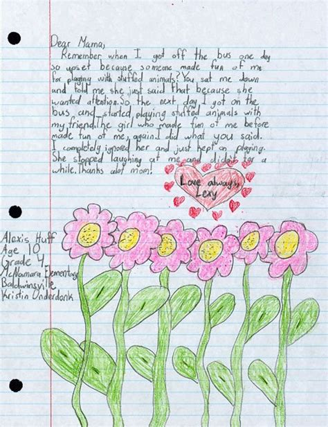 mothers day letter 78 images about children s letters to and more on 8254