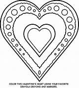 Coloring Jewelry Valentines sketch template