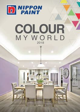 colour my world 2018 catalogue nippon paint singapore