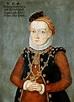 Miniature of Hedwig Jagiellon, Electress of Brandenburg by ...