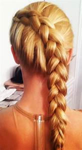 Twist Braid HairStyles High Waisted Skirt Love The Color