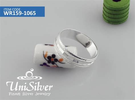 ring gt wedding and unisex ring silver jewelry philippines unisilver net