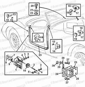 Roadster Door Locks  Hinges  U0026 Fittings