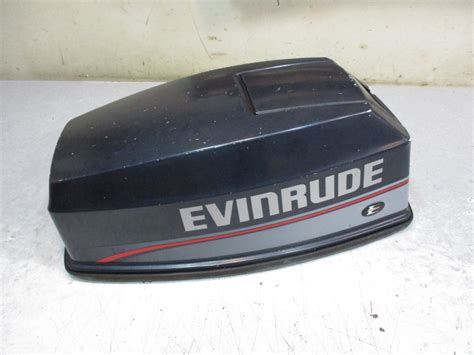 0284137 Top Engine Cover Evinrude Johnson Cowl Outboard