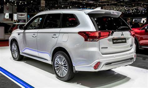 toyota outlander 2020 2020 mitsubishi outlander phev range fuel economy 2019