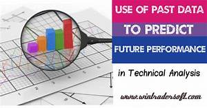 Use of past data to predict the future in technical analysis