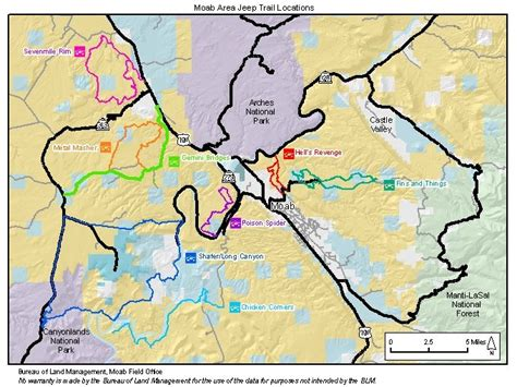 moab jeep trails map image gallery moab map