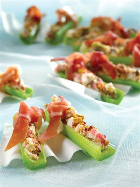 celery canapes hors d 39 oeuvres tapas