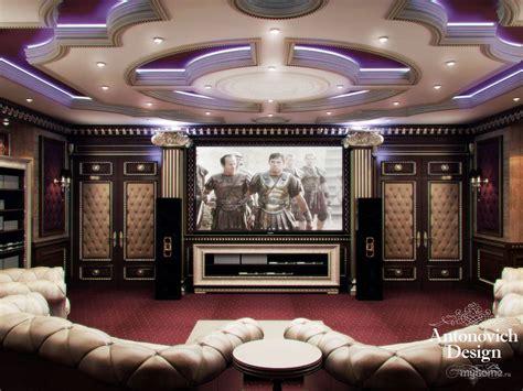 proekt dizayn interera domashnego kinoteatra ekaterina