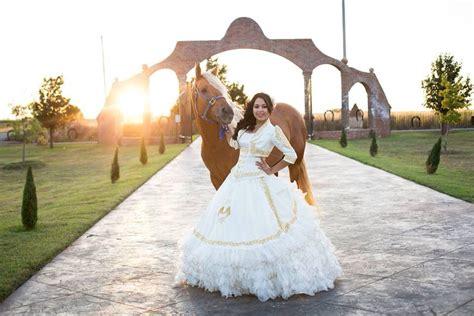 My Quinceañera #laglitterquincedress #white&gold