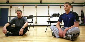 Veterans Find Comfort In Meditation Therapy