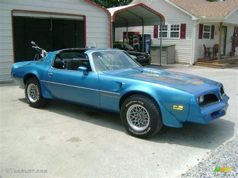 1978 Blue Trans Am by 1978 Light Blue Metallic Pontiac Firebird Trans Am Coupe