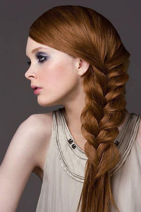 frisuren zopf lange haare