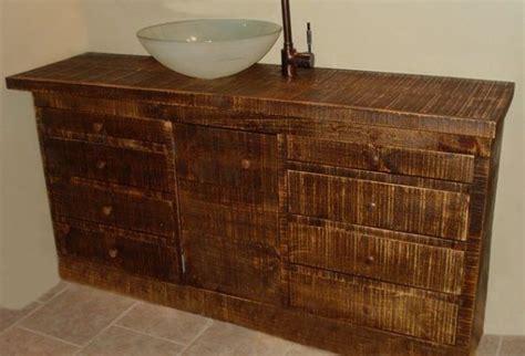 Bathroom Vanity Reclaimed Wood by Custom Made Reclaimed Wood Bathroom Vanity By Wooden