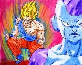Goku vs Frieza Drawings