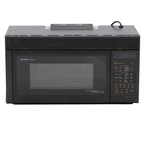built in microwave ovens with exhaust fan sharp 1 1 cu ft 850 watt over the range convection