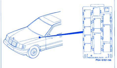 1999 C280 Wiring Diagram by Mercedes 300d 1999 Front Engine Fuse Box Block Circuit