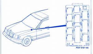 Mercedes 300d 1999 Front Engine Fuse Box  Block Circuit