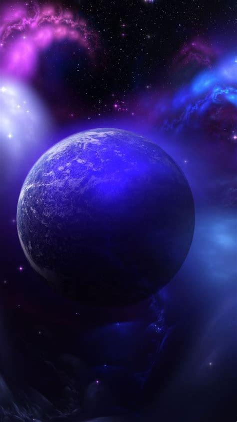 Download cool phone wallpapers at vividscreen. Space blue purple   wallpaper.sc SmartPhone