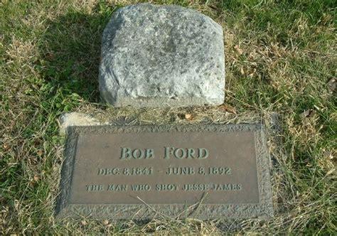 bob ford gravesite  richmond mo jesse  frank
