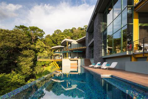 tropical modern luxury home   jungle idesignarch