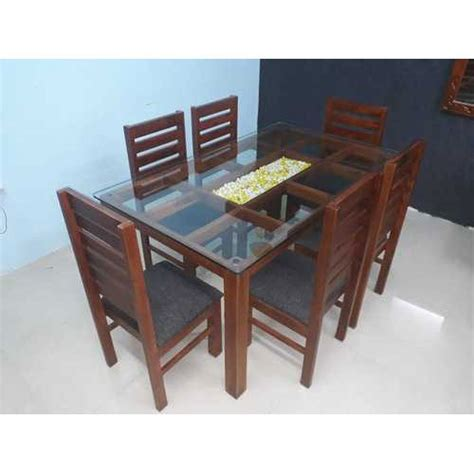 glass top dining table set  rs  set wooden dining room set wooden dining set