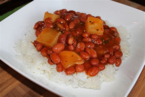 rice and beans puerto rican style beans recipe dishmaps