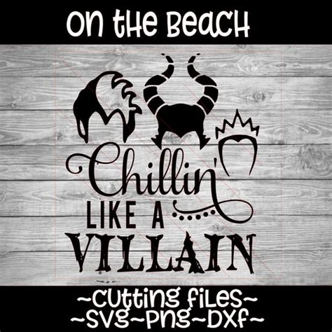 Stranger things font svg, pdf, eps, dxf files for cricket, silhouette instant download eleven mike dusty will lucas friends don't lie. Chillin Like a Villain SVG DXF Halloween design ...