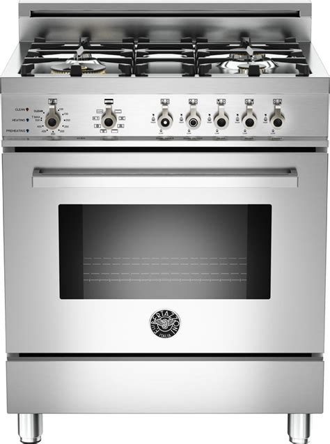 bertazzoni prodfsx   pro style dual fuel range   sealed brass burners  cu ft