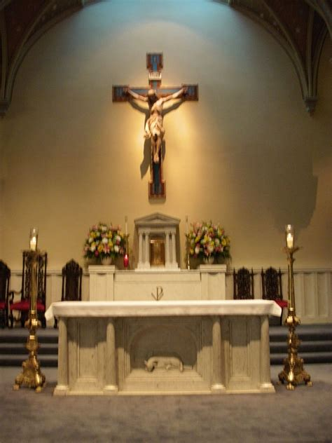 Filest Marys Catholic Church Altar Alexandria Va