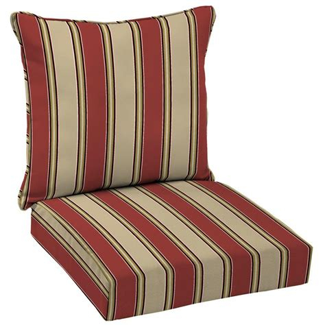 hton bay wide chili stripe welted 2 seating