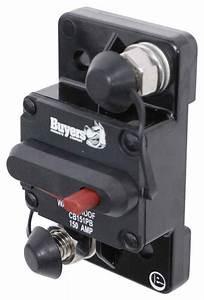 Buyers Products Circuit Breaker W Manual Push