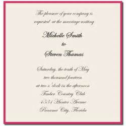how to word a wedding invitation wedding invitation sle wording template best template collection
