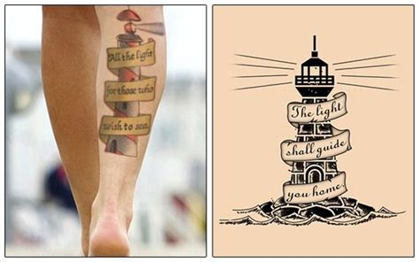 wonderful lighthouse tattoo designs  meanings  steal