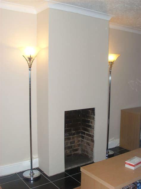 plaster chimney breast  fit fireplace plastering job