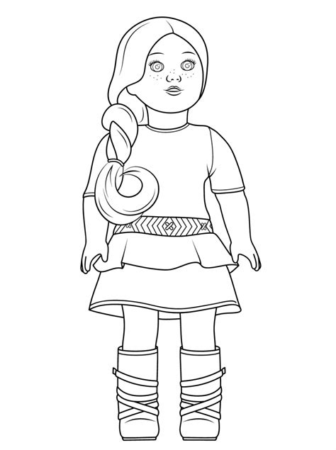 American Girl Coloring Pages Best Coloring Pages For