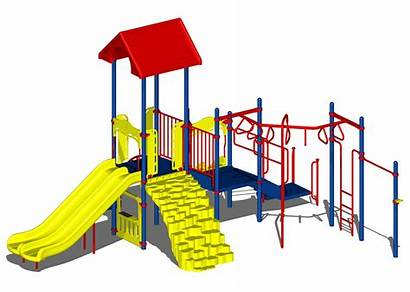 Playground Clipart Clip Equipment Cartoon Cliparts Outdoor