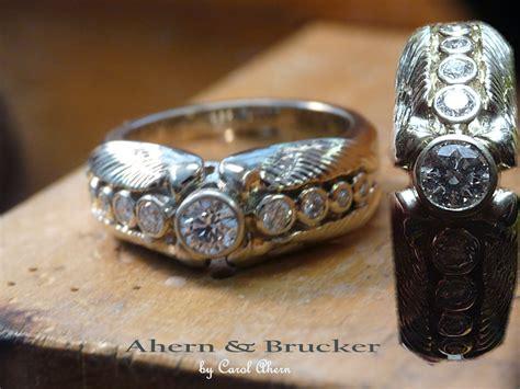 Ahern & Brucker Angel Wing Wedding Ring. Pillow Top Engagement Rings. Jade Jewelry Wedding Rings. Marrige Wedding Rings. Roman Mens Rings. Shaped Marquise Wedding Rings. Attached Engagement Rings. Jan Birthstone Rings. Radiant Cut Wedding Rings
