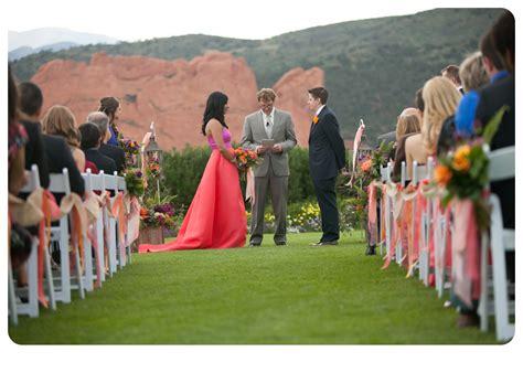 19 garden of the gods wedding decor23
